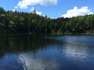 ホワイトマウンテン 湖