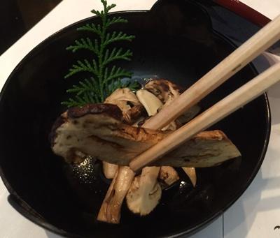 5品焼きマツタケ