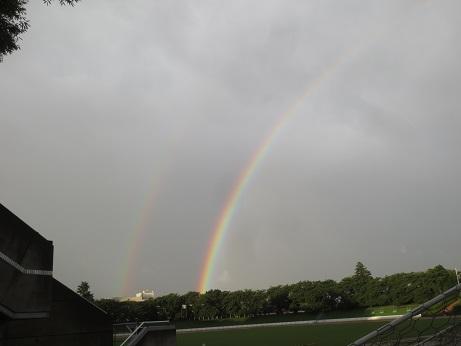 ダブルの虹2