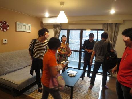 Airbnb蔵前リビング