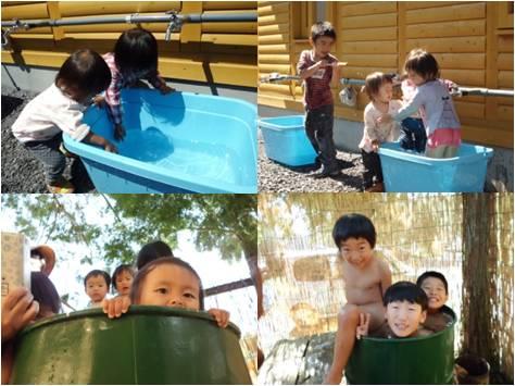 オノマトペ・水遊び