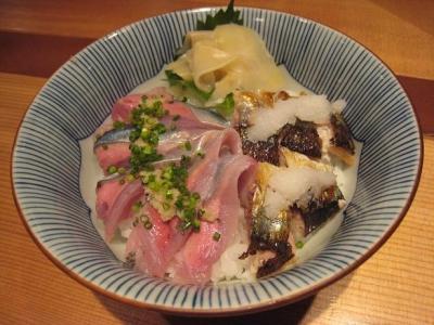 秋刀魚2色丼