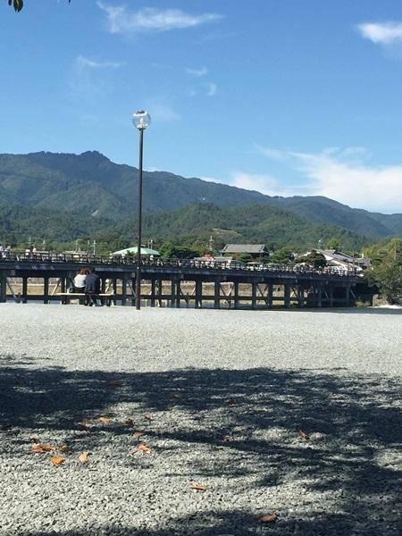 京都嵐山景色