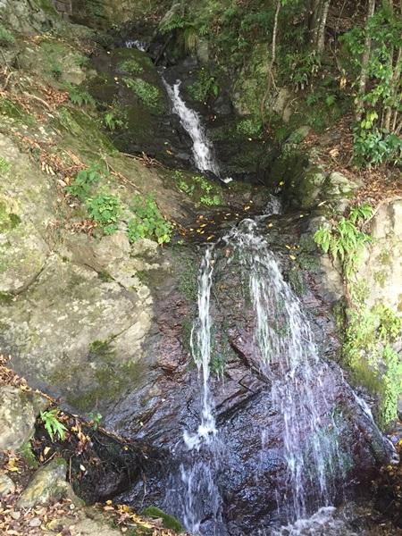 嵐山小さい滝