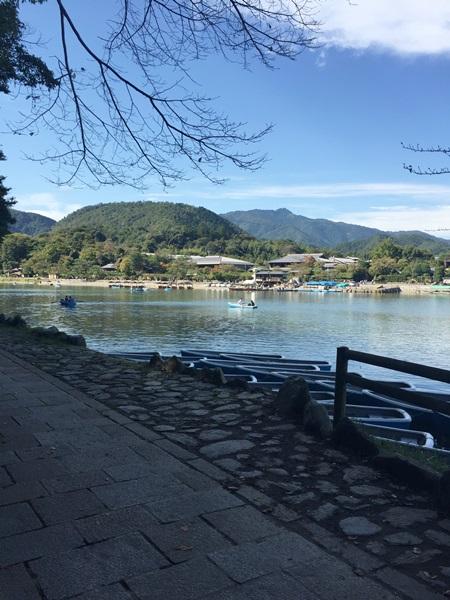 嵐山遊歩道入口