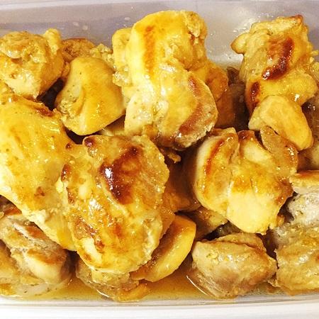 常備菜おうちごはん 鶏柚子こしょう焼