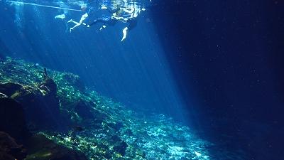 世界一美しい泉 グランセノーテ セノーテ