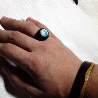 木の指輪3