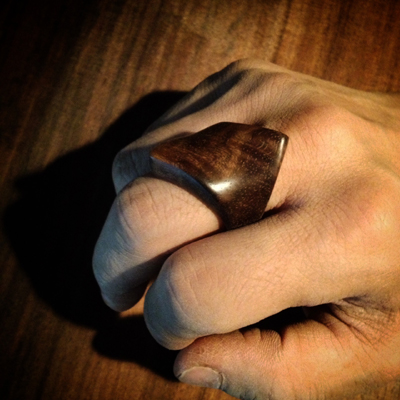 木の指輪1