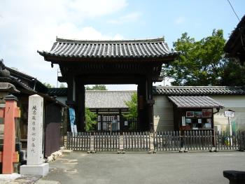 151107_新薬師寺の門