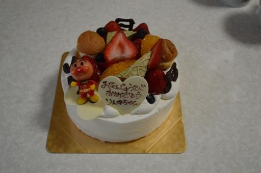 アンパンマンのお誕生日ケーキ  15