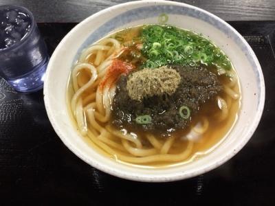 150731千万喜淀屋橋店昆布うどん300円