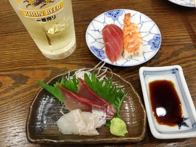 150808丸天寿司チョイ飲みセット
