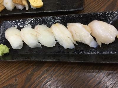 150808丸天寿司鯛とつぶ貝