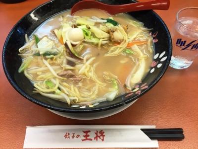 150822餃子の王将十三店チャンポン626円
