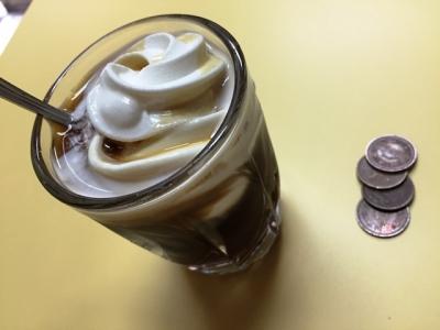150822淀川カドヤクリームコーヒー160円