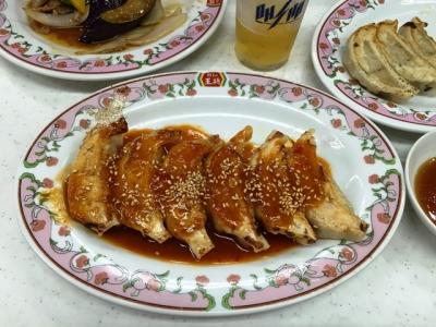 150903餃子の王将笹島店餃子の味噌ダレ300円