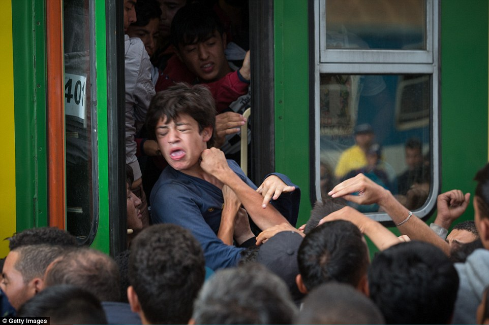 難民の進んだルート9