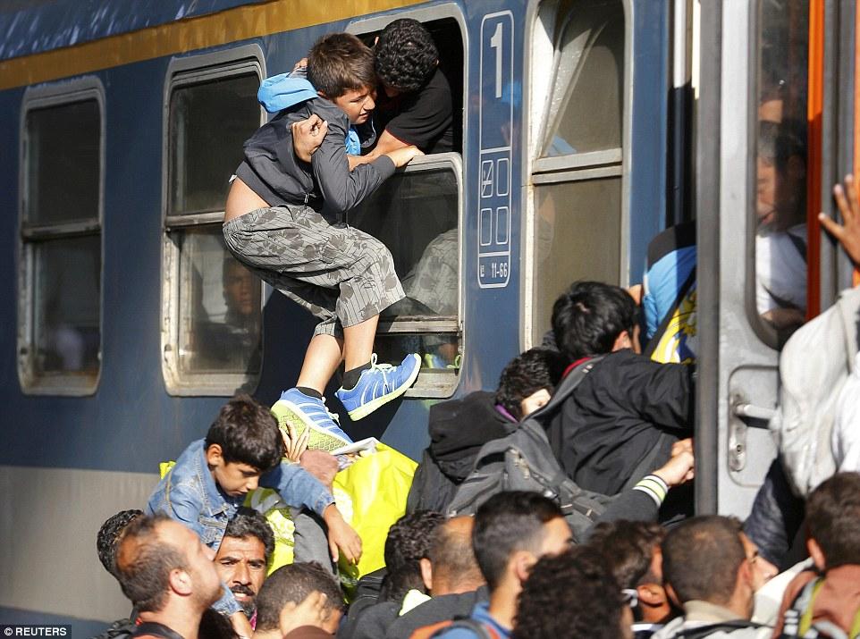 難民の進んだルート10