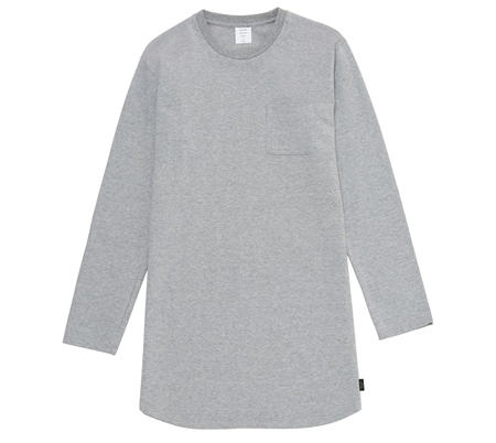 MG-TP03 LONG TEE GREY_R