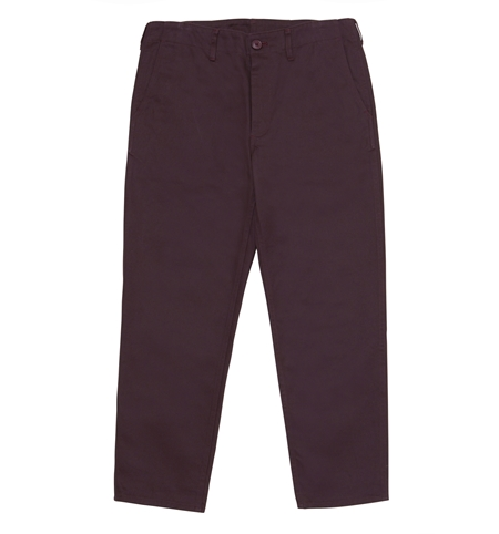 MG-TR01 CHINO PANTS BASIC BURGUNDY_R