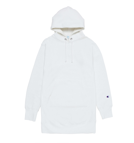 MG-TP02 CHAMPION LONG PARKA WHITE_R