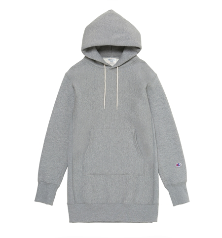 MG-TP02 CHAMPION LONG PARKA GREY_R