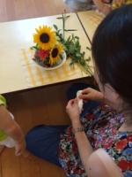 ママと花会B
