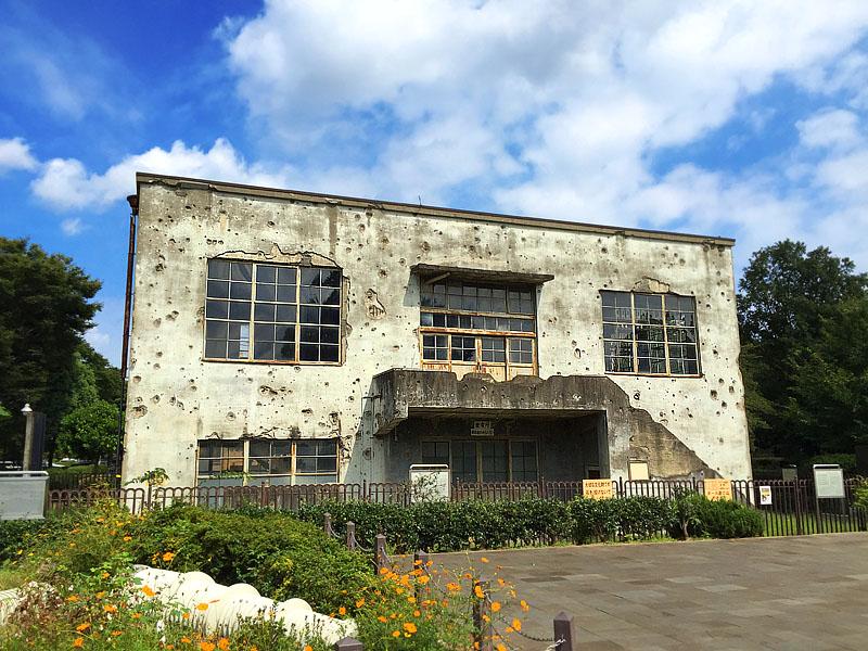 150921旧日立航空機立川工場変電所1
