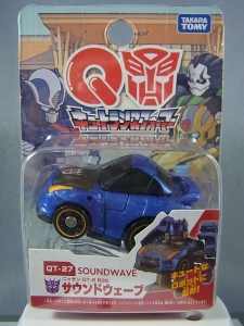 トランスフォーマー QT27 サウンドウェーブ(ニッサン GT-R R35)001