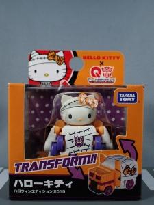 トランスフォーマー QTC01H ハローキティ ハロウィンエディション2015001