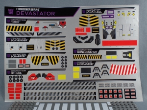 CWデバステーター 公式シール貼り01028