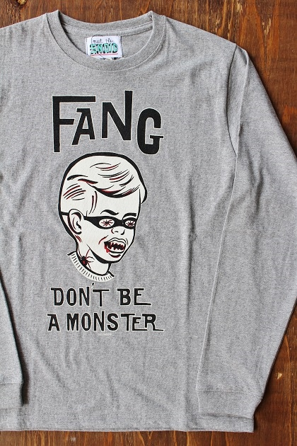 SNOID DONT BE A MONSTER LS Tee (2)