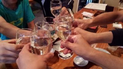 乾杯~!!