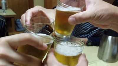 乾杯~!!!
