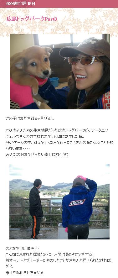 川島なおみ ドッグパーク3