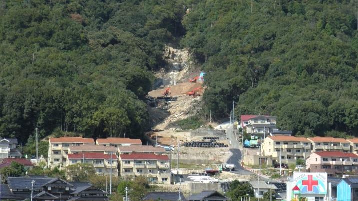 広島市土砂災害工事