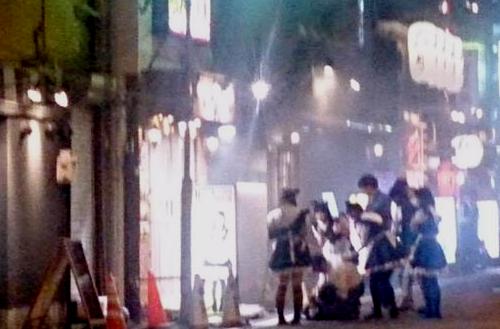 メイドカフェ火災17