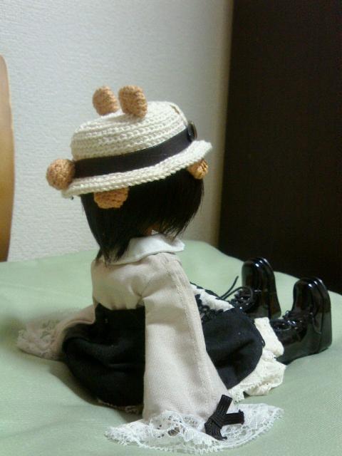 パンダ帽子しっぽ