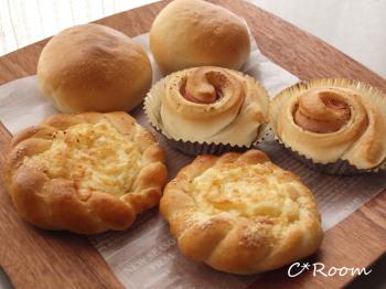 オニオンチーズパン1