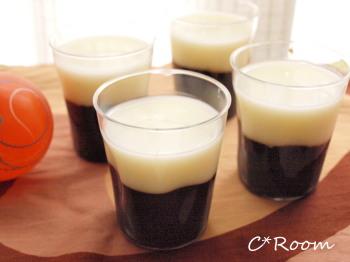 ミルクと珈琲のハロウィンゼリー5