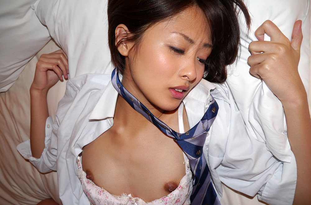 夏目優希 制服 セックス画像 67