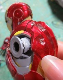 figmaアイアンマン・マーク7(肩関節引き出し)