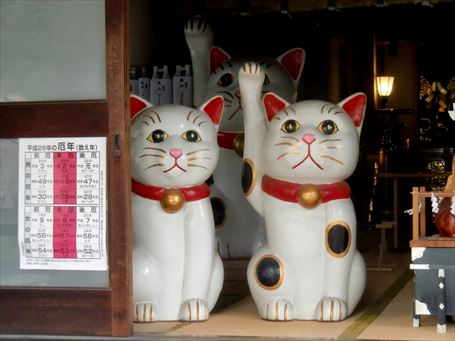 今戸神社の招き猫