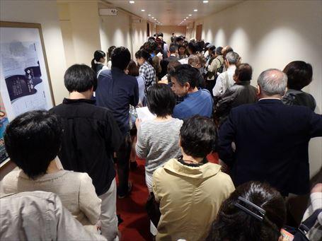 新歌舞伎座 幕見の行列