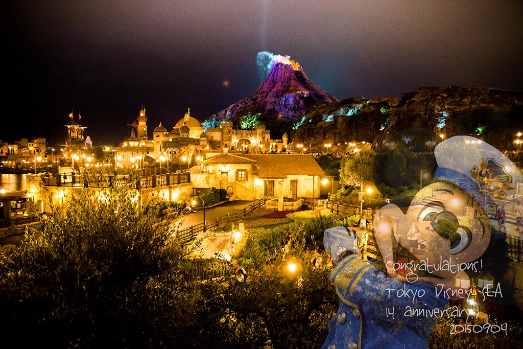 14 anniversary * Tokyo Disney SEA1