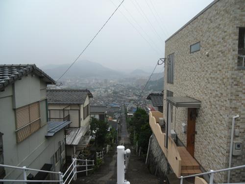 これも長崎らしい景色かな?