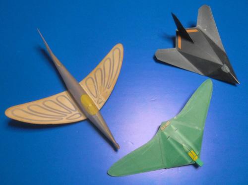 デュアーさんの無尾翼機。
