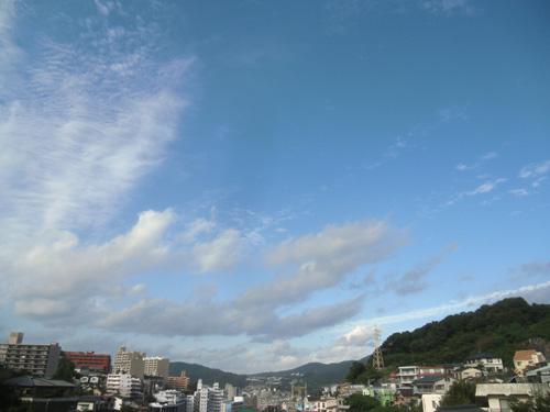 いいお天気ですが、
