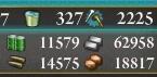 20150825艦これE-4海風掘り後資源